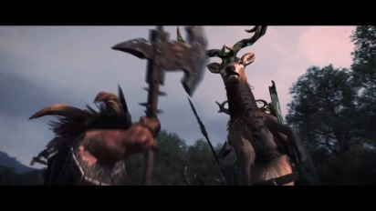 Total War Warhammer - Realm of the Wood Elves Announcement Trailer