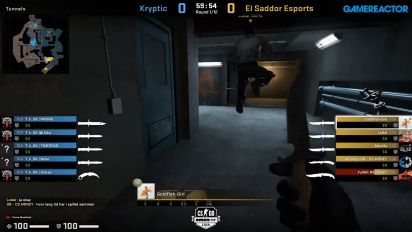 OMEN by HP Liga - Kryptik VS El Sadoor Esports on Overpass.