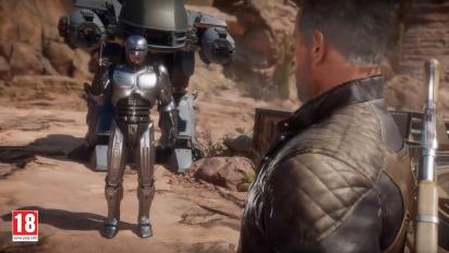 Mortal Kombat 11: Atermath. RoboCop vs the Terminator