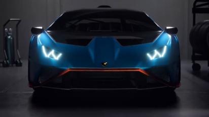 Rocket League - Lamborghini Huracán STO Trailer