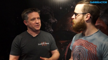 Warhammer 40,000: Dawn of War 3 - Entrevista Brent Disbrow