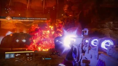 Destiny: Rise of Iron - Jogabilidade em Archons Forge