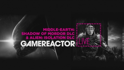 Middle-earth: Shadow of Mordor & Alien: Isolation - Livestream Replay