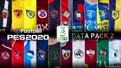 eFootball PES 2020 - Anúncio da Serie B