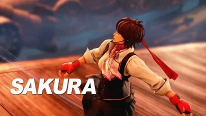 Street Fighter V: Arcade Edition - Sakura Reveal Trailer