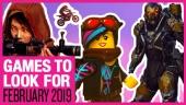 Lançamentos de Fevereiro 2019