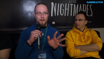 Little Nightmares - Entrevista Lucas Roussel e Dave Mervik