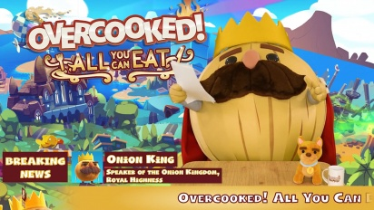 Overcooked! All You Can Eat - Announcement Trailer (Switch, PS4, Xbox One, Steam)