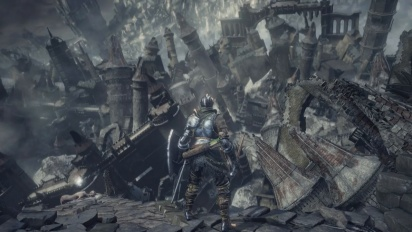 Dark Souls III - The Ringed City Gameplay