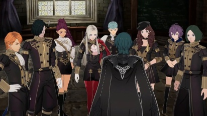 Fire Emblem: Three Houses - Welcome to the Black Eagle House