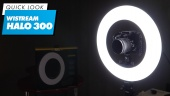 Wistream Halo 300 Ring Light - Quick Look
