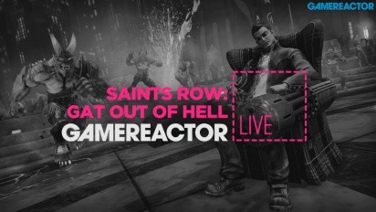 Saints Row: Gat out of Hell - Livestream Replay