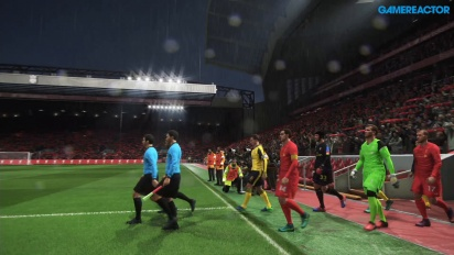 Pro Evolution Soccer 2017 - Liverpool vs Arsenal at Anfield Road