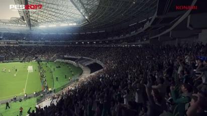 Pro Evolution Soccer 2017 - Palmeiras Allianz Parque Data Pack 2.0 Trailer