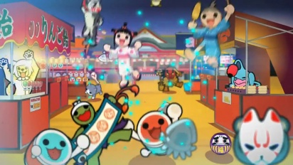 Taiko no Tatsujin - Drum Up Some Fun Trailer
