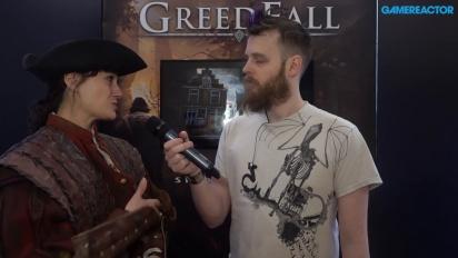 Greedfall - Entrevista Jehanne Rousseau