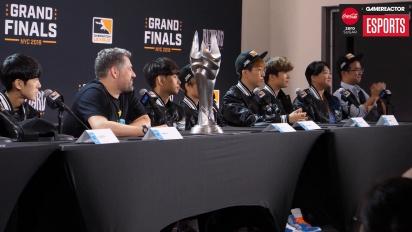 Overwatch League Finals - London Spitfire Finals Press Conference