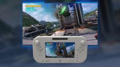 Star Fox Zero - Wii U GamePad Japanese Gameplay