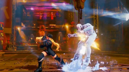 Street Fighter V - Kolin Reveal Trailer