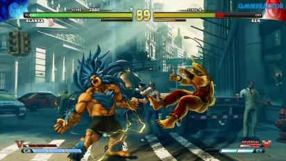 Street Fighter V: Jogabilidade de Blanka