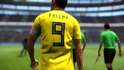 PES 2019 - New Ambassador Falcao Trailer