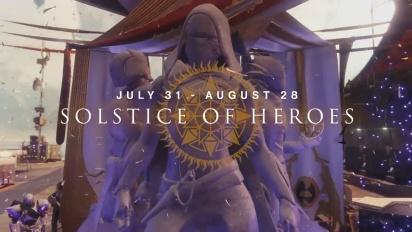 Destiny 2 –- Solstice of Heroes Trailer