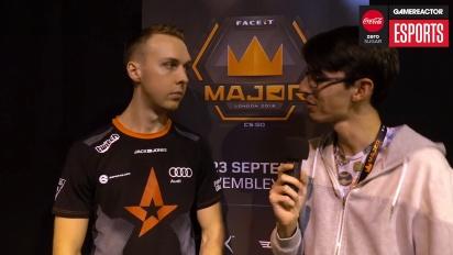 Faceit Major - Gla1ve Winners Interview