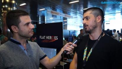 Flat Heroes - Entrevista Lucas González
