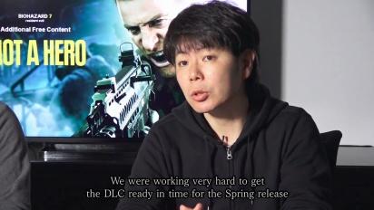 Resident Evil 7: Biohazard - Not a Hero Dev Team Message