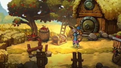 SteamWorld Quest: Hand of Gilgamech - Steam Release Trailer