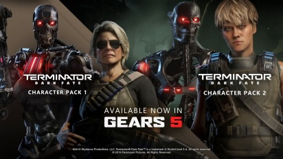 Gears 5 - Trailer do pacote Terminator: Dark Fate