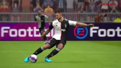 eFootball PES 2020 Mobile - Trailer de lançamento
