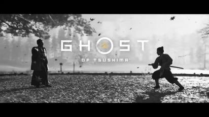 Ghost of Tsushima Director's Cut - Trailer de Anúncio