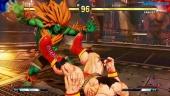 Street Fighter V: Arcade Edition - Blanka vs Zangief SFII Path Gameplay