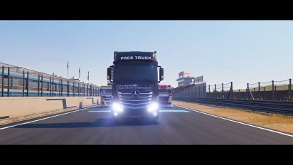 FIA European Truck Racing Championship - Gameplay Trailer