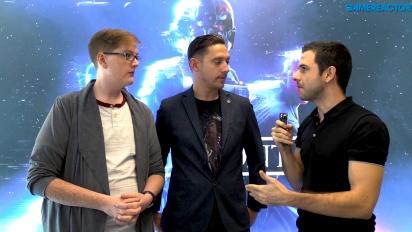 Star Wars Battlefront II - Chris Matthews and Mitch Dyer Story Mode Interview