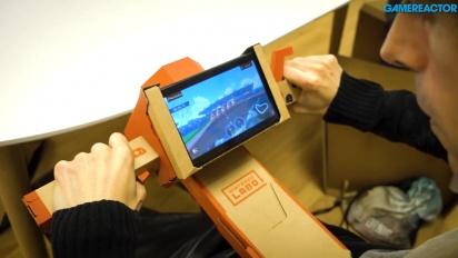 Nintendo Labo: Cana de Pesca e Mota
