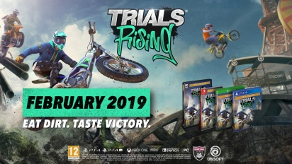 Trials Rising - Announcement Trailer