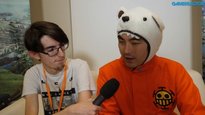 One Piece: World Seeker - Entrevista Koji Nakajima