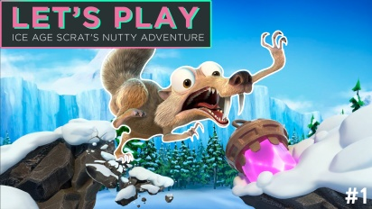 Let's Play Ice Age: Scrat's Nutty Adventure - Episódio 1
