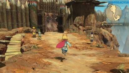 Ni no Kuni II: Revenant Kingdom - One Good Turn Deserves Another Gameplay