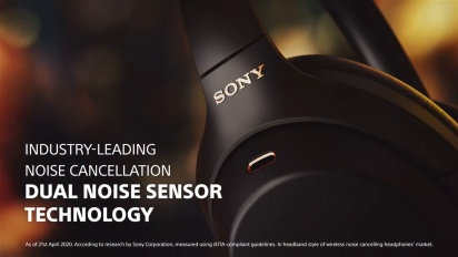 Sony Noise Cancelling Headphones WH-1000XM4 - Official Product Video