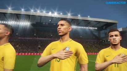 Pro Evolution Soccer 2018 - Intro e Hino do Brasil