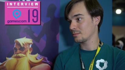 Darksburg - Adrien Briatta Interview