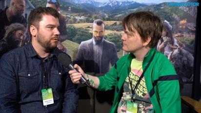 Far Cry 5 - Entrevista Drew Holmes