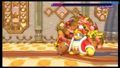 Kirby Star Allies - Batalha contra o boss King Dedede