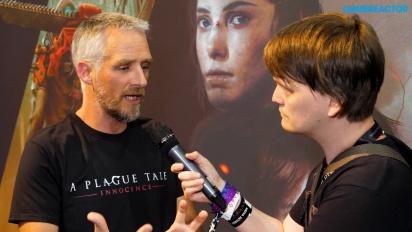 A Plague Tale: Innocence - David Dedeine Interview