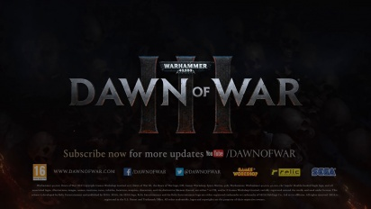 Warhammer 40,000: Dawn of War 3 - Prophecy of War Trailer