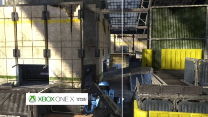 Halo 3, The Pit - Graphics Comparison: Xbox 360 vs. Xbox One X
