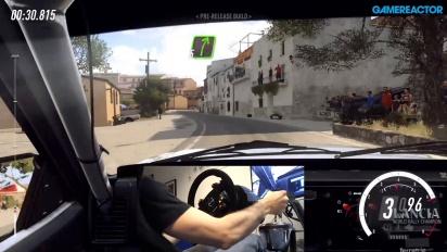 Dirt Rally 2.0 - Jogabilidade no asfalto